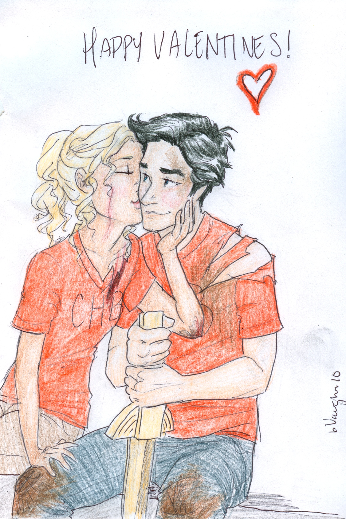 Percy and Annabeth http://camphalfblood.wikia.com/wiki/File:!day_with_Percy_and_Annabeth_by_burdge_bug.jpg