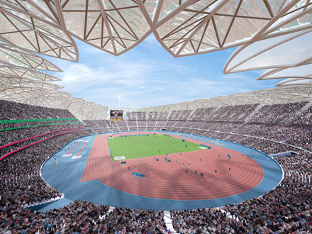 olympics london 2012 stadium. plans for the stadium did