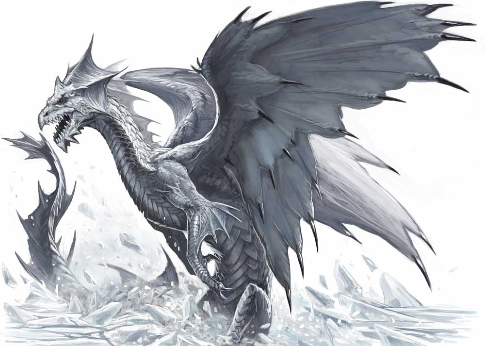 Black And White Dragon Pics. White dragon 2.jpg 73993 bytes