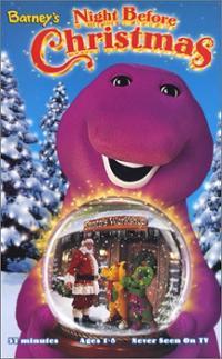 Image barneys night before christmas barney vhs cover artjpg pbs