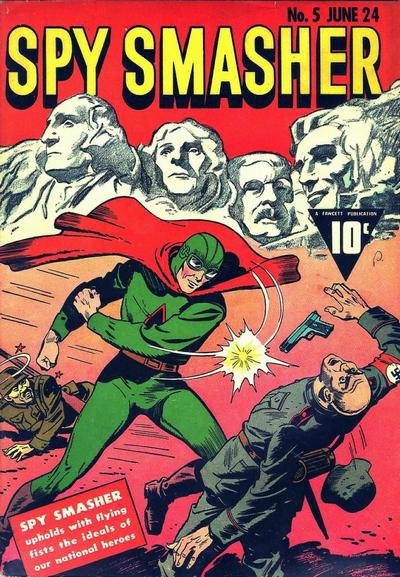 Spy Smasher - Public Domain Super Heroes