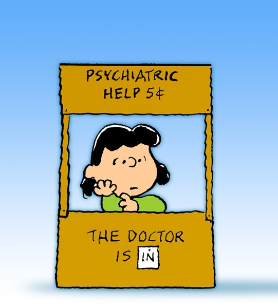 Lucy's psychiatry booth - Peanuts Wiki