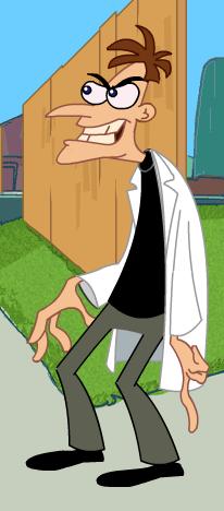 Phineas And Ferb Dr Doofenshmirtz Building Doctor Doofensh...