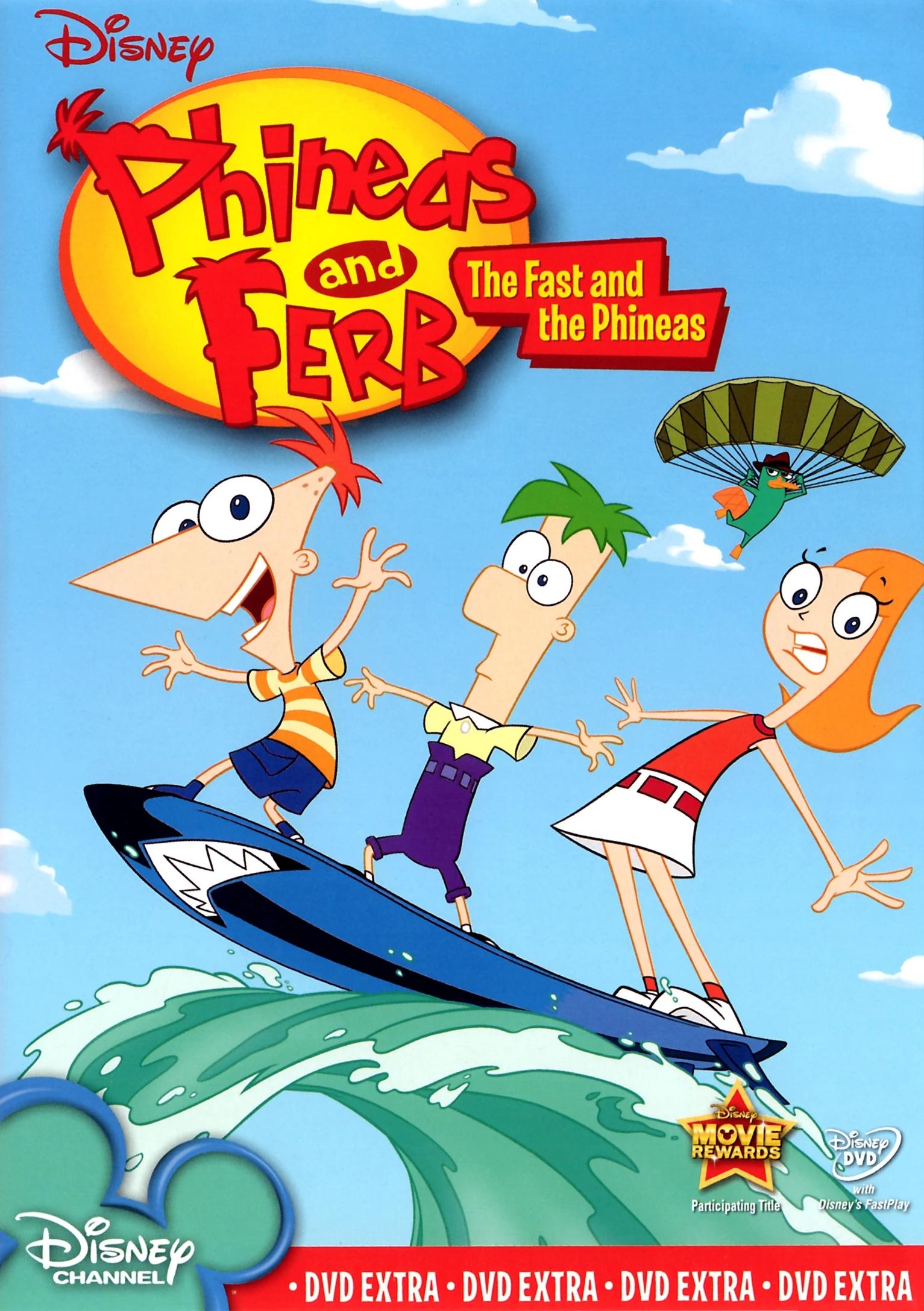 Название:Финес и Ферб Оригинальное название:Phineas and Ferb Год