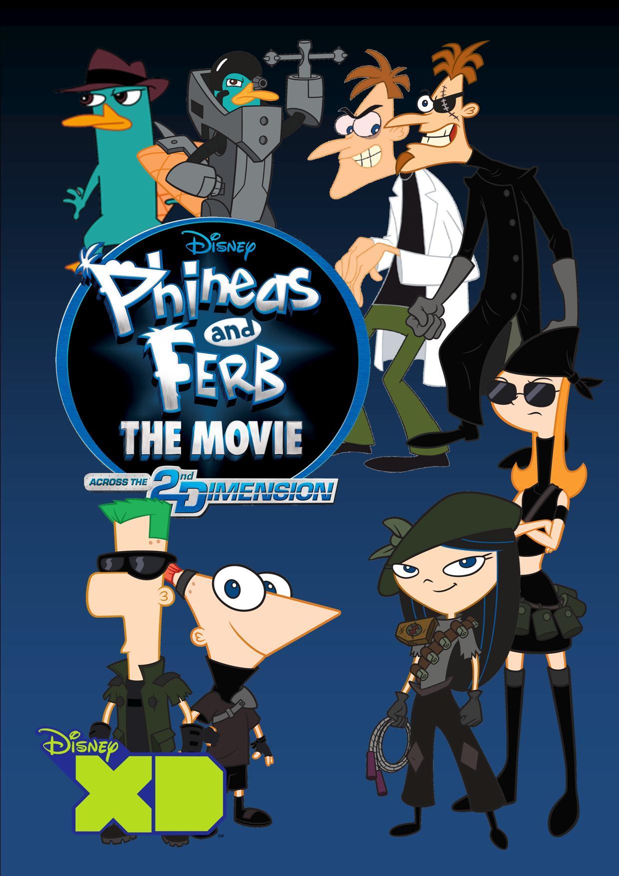 Phineas Und Ferb Film