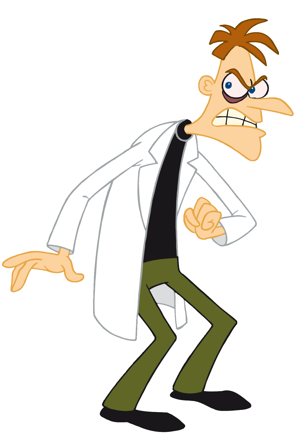 Heinz Doofenschmirtz, Master of the Backstory