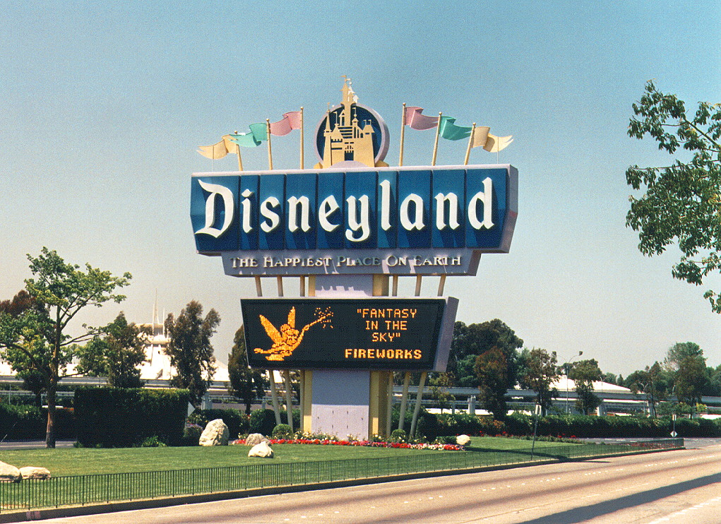 old school Disneyland, happiest place on earth