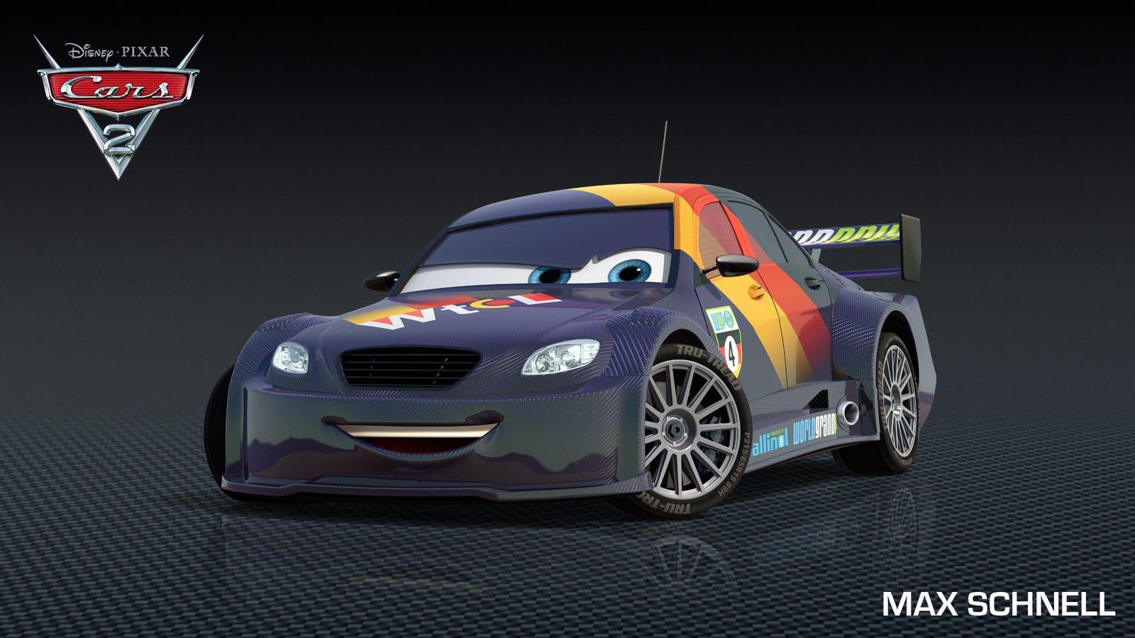 Max schnell cars 2 pixar wiki disney pixar animation studios