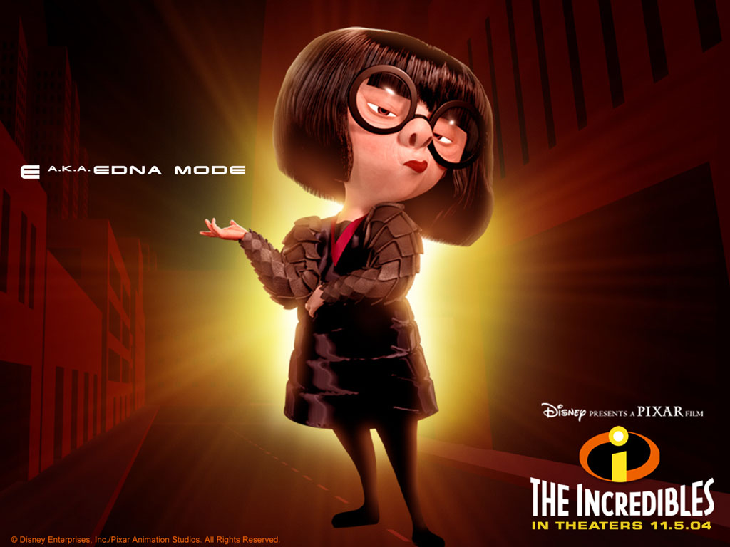 Edna Mode - Pixar Wiki - Disney Pixar Animation Studios