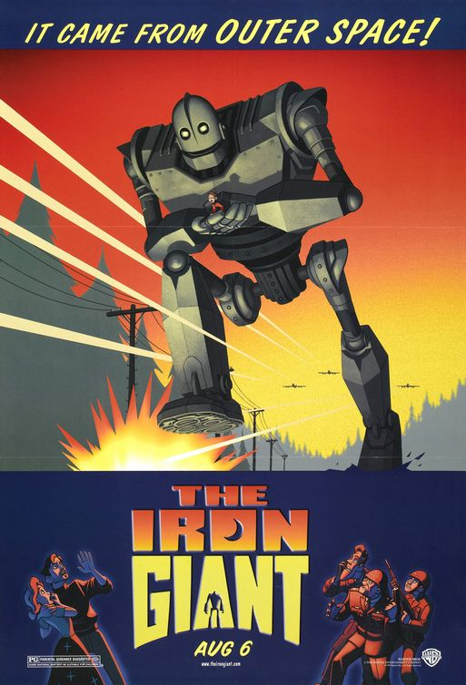 THE IRON GIANT [1999] [HCF REWIND]
