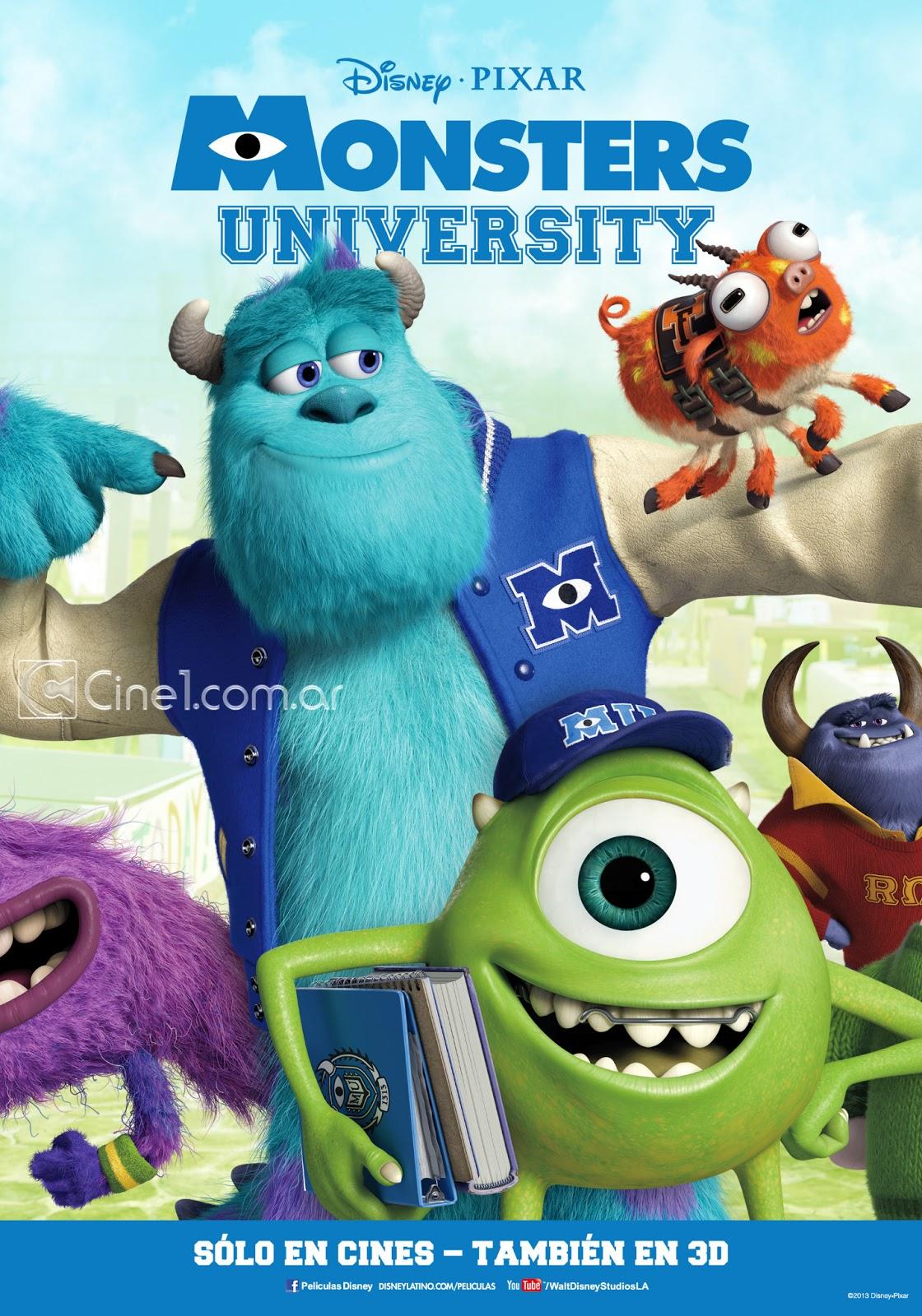 怪兽大学【国英双语】Monsters.University.2013.720p.HDR6.x264.2Audio-SmY