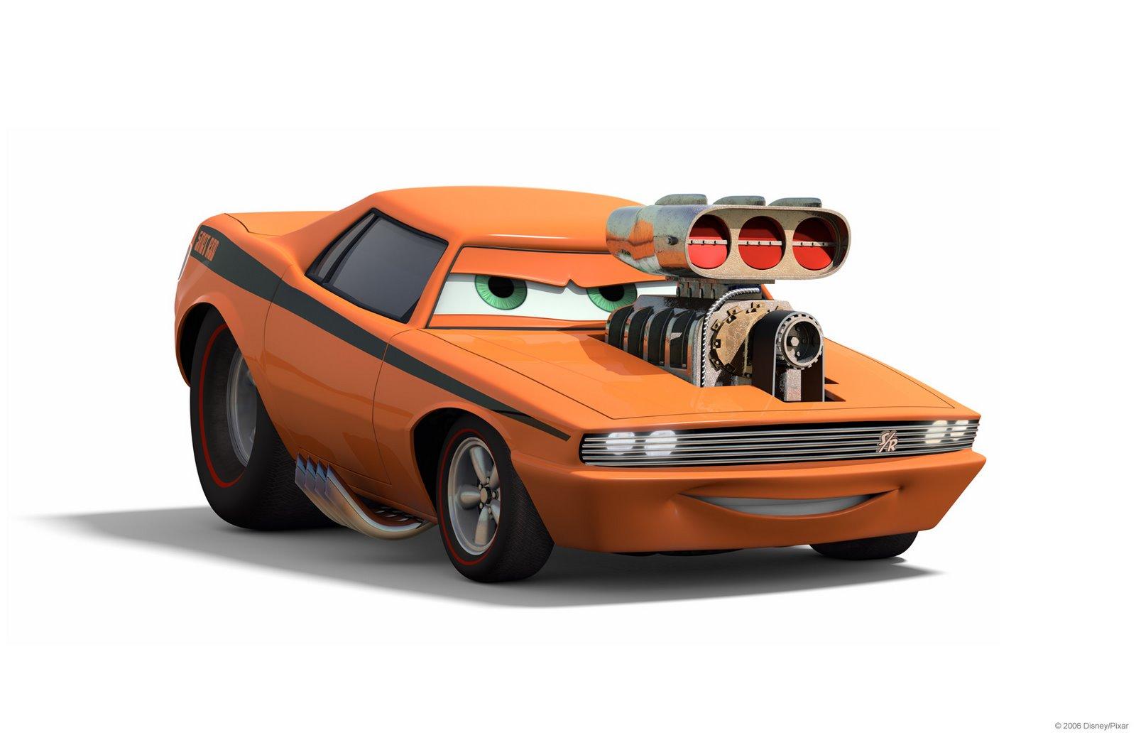 Duelo 3D Nº 02 @cry_Nash-1352 Vs @0997sebastian - Cars_Pixar Snot_rod_side
