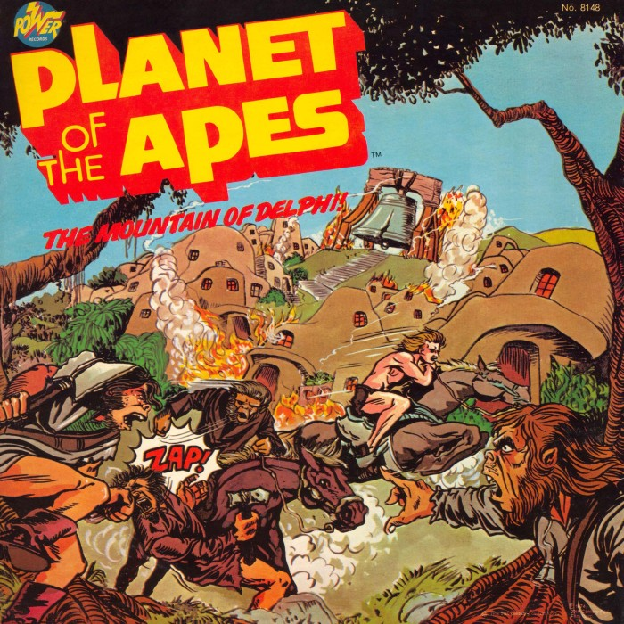 Mounatin of The Delphi - Planet of the Apes: The Sacred Scrolls