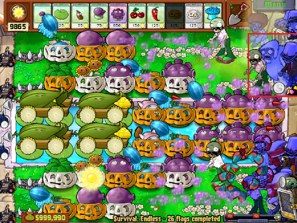 plants vs zombies yeti how to find