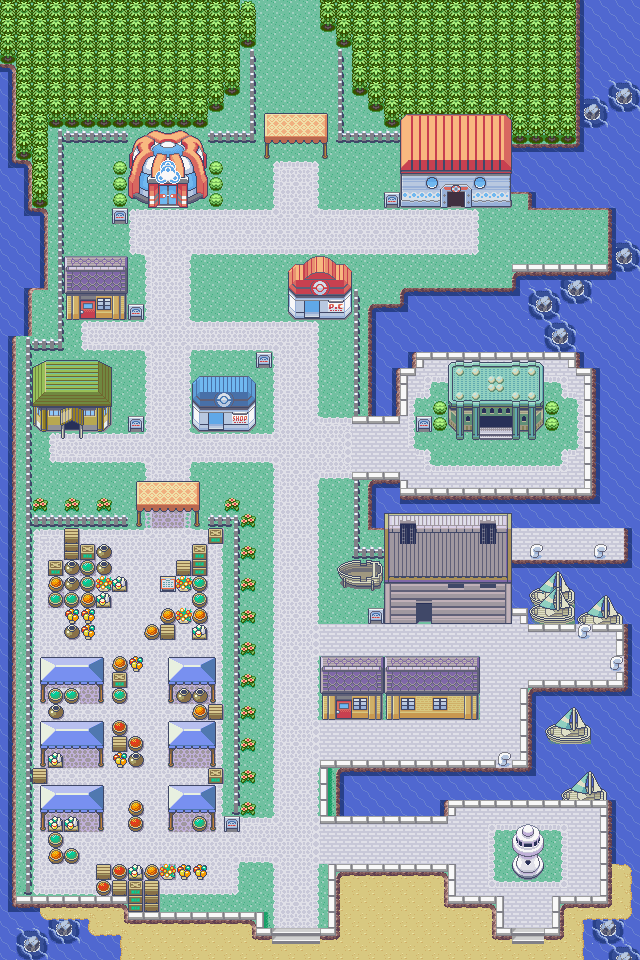 Slateport City - The Pokémon Wiki
