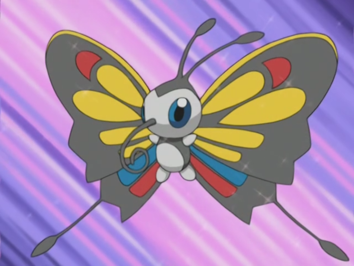 beautifly pokemon foto