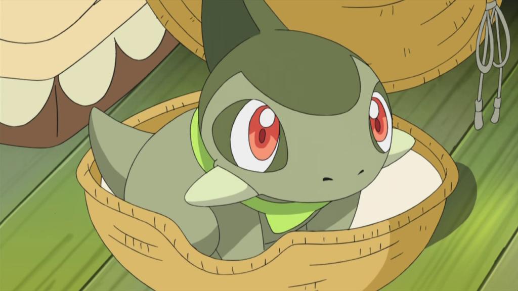 Pokemon series! Iris_Axew_debut
