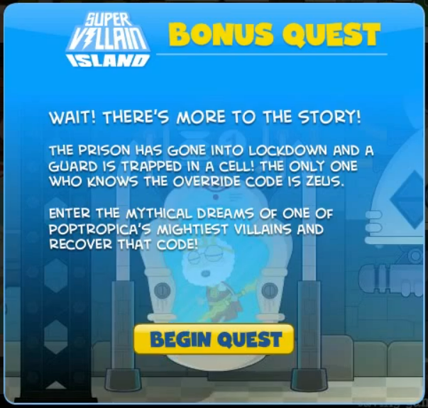 Poptropica Super Villain Cheats
