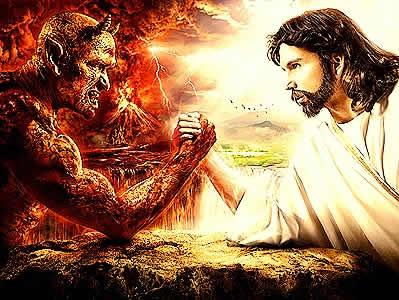 god vs devil wallpaper - photo #4