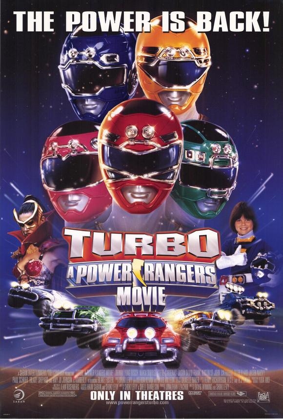 Power Rangers Season 5 Turbo