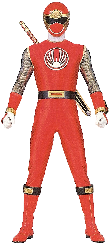 Standard form hurricanered s hurricanger suit which allows the