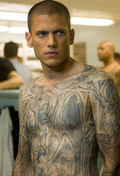 prison break tattoo. Scofield - Prison Break