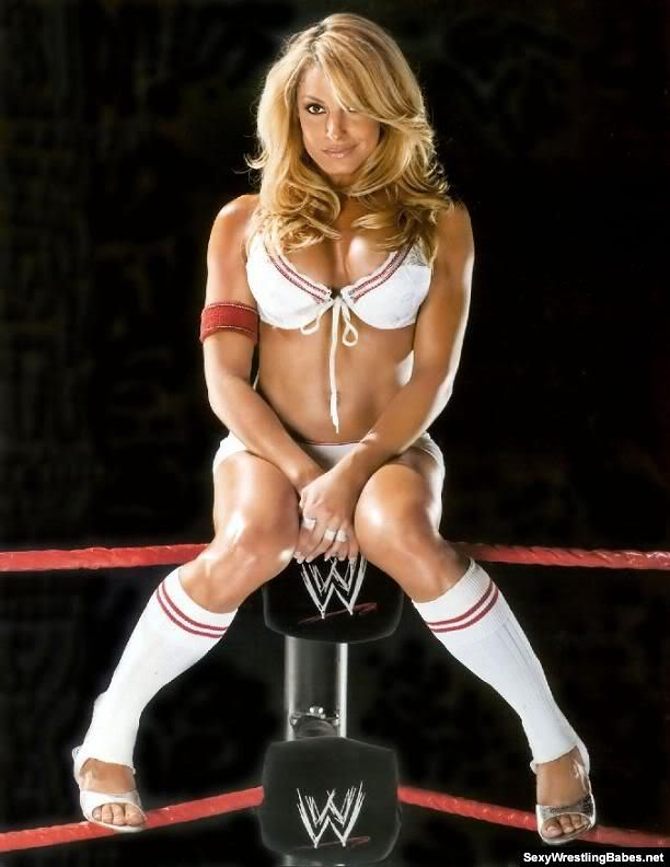 trish stratus with nothing on