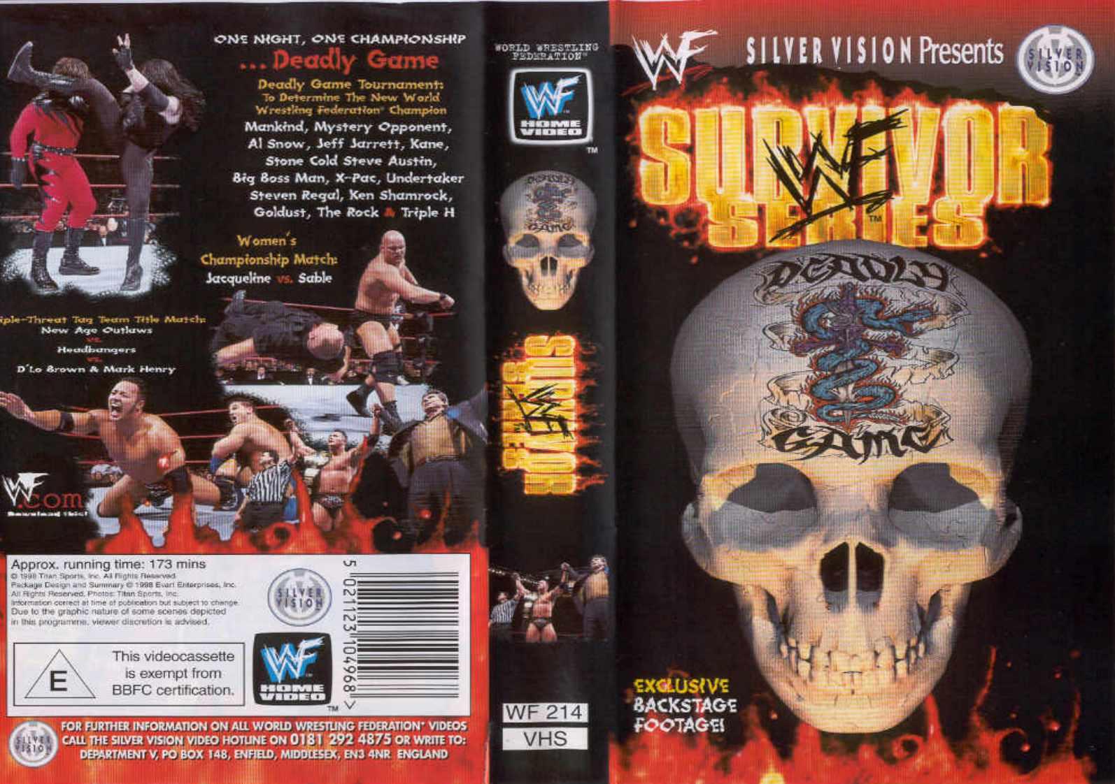 Survivor Series 1998 DVD.jpg