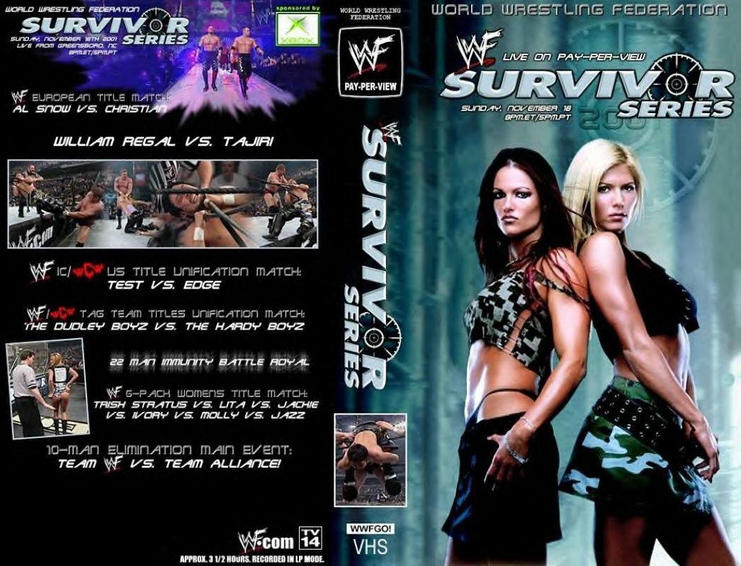 Survivor Series 2001 DVD.jpg