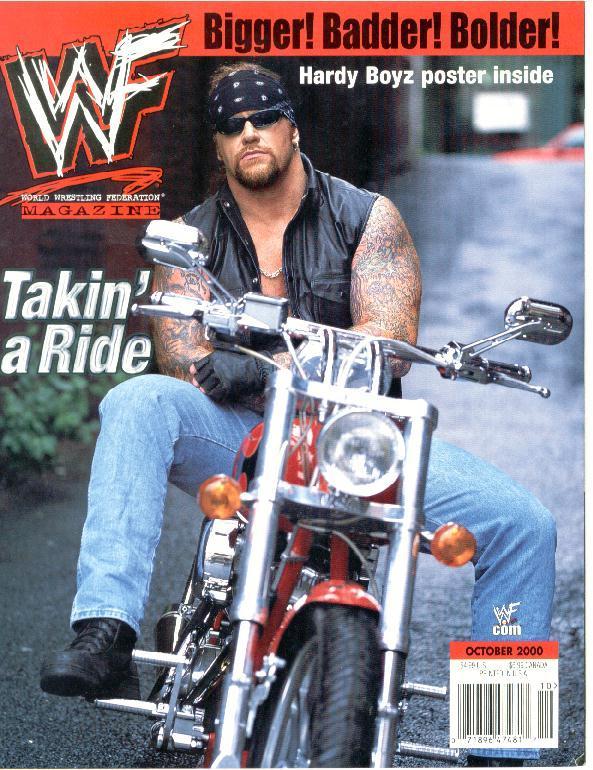 WWF Undertaker Magazine