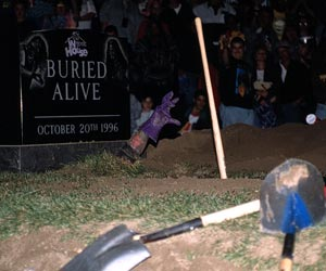 Buried Alive match - Pro Wrestling Wiki - Divas, Knockouts ...