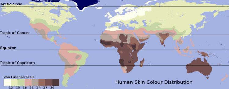 Human genetic variation - Psychology Wiki