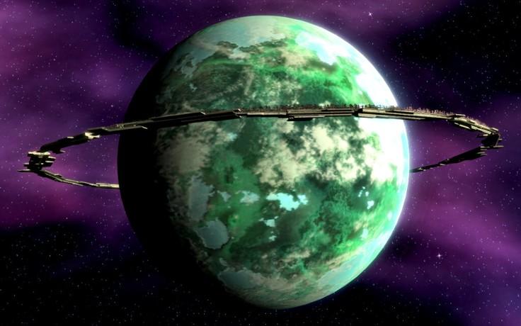 O planeta Kuat e seu estaleiro orbital.