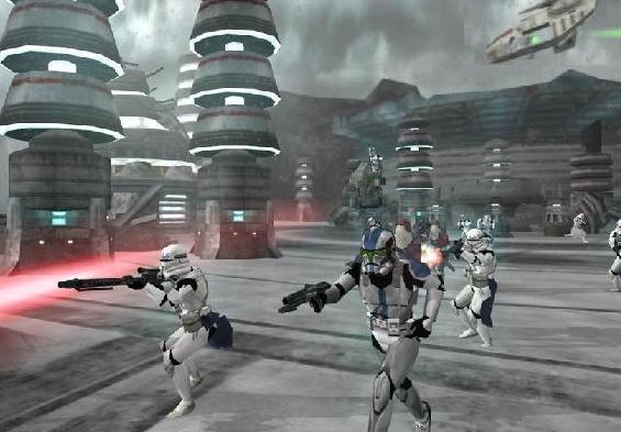 Tropas da legião em Mygeeto.