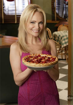 Promotional photo of Kristin Chenoweth as Olive Snook.