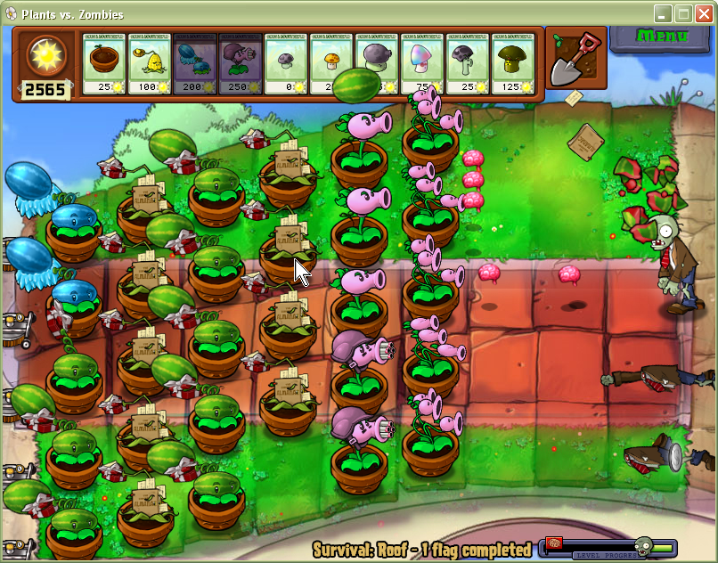 Plantas Vs Zombies PC Full (mega)