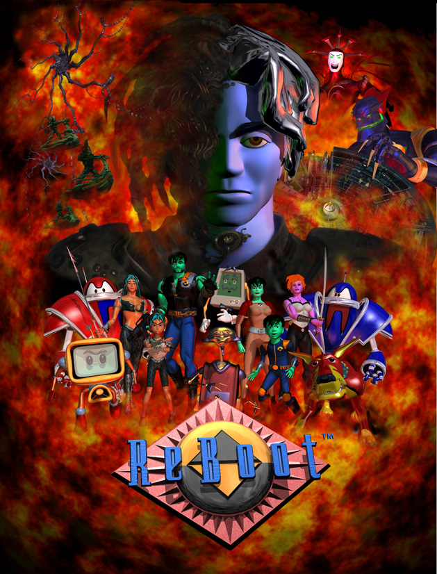 ReBoot - Season Two movie