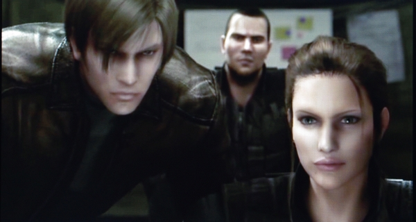 Biohazard: Degeneration (Resident Evil : Dégénération) Leon,angela,and_greg