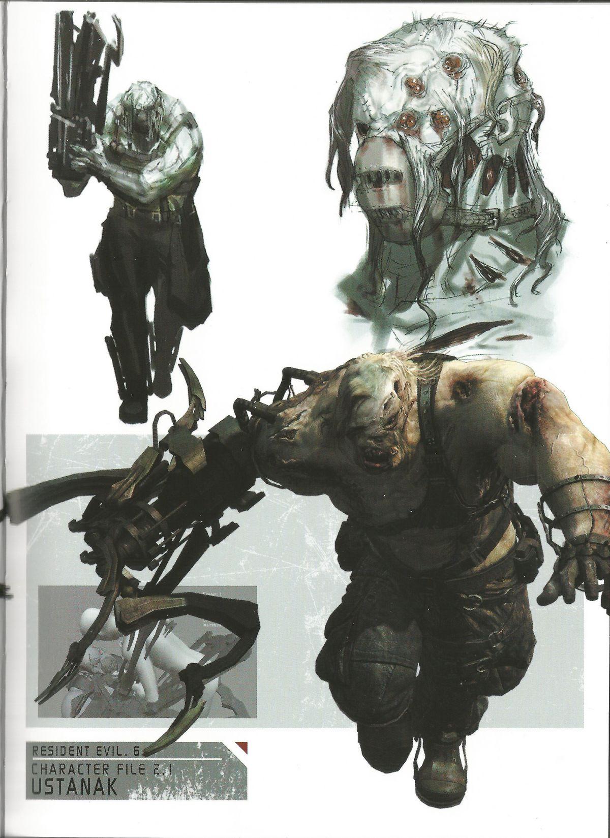 Resident evil 6 art gallery