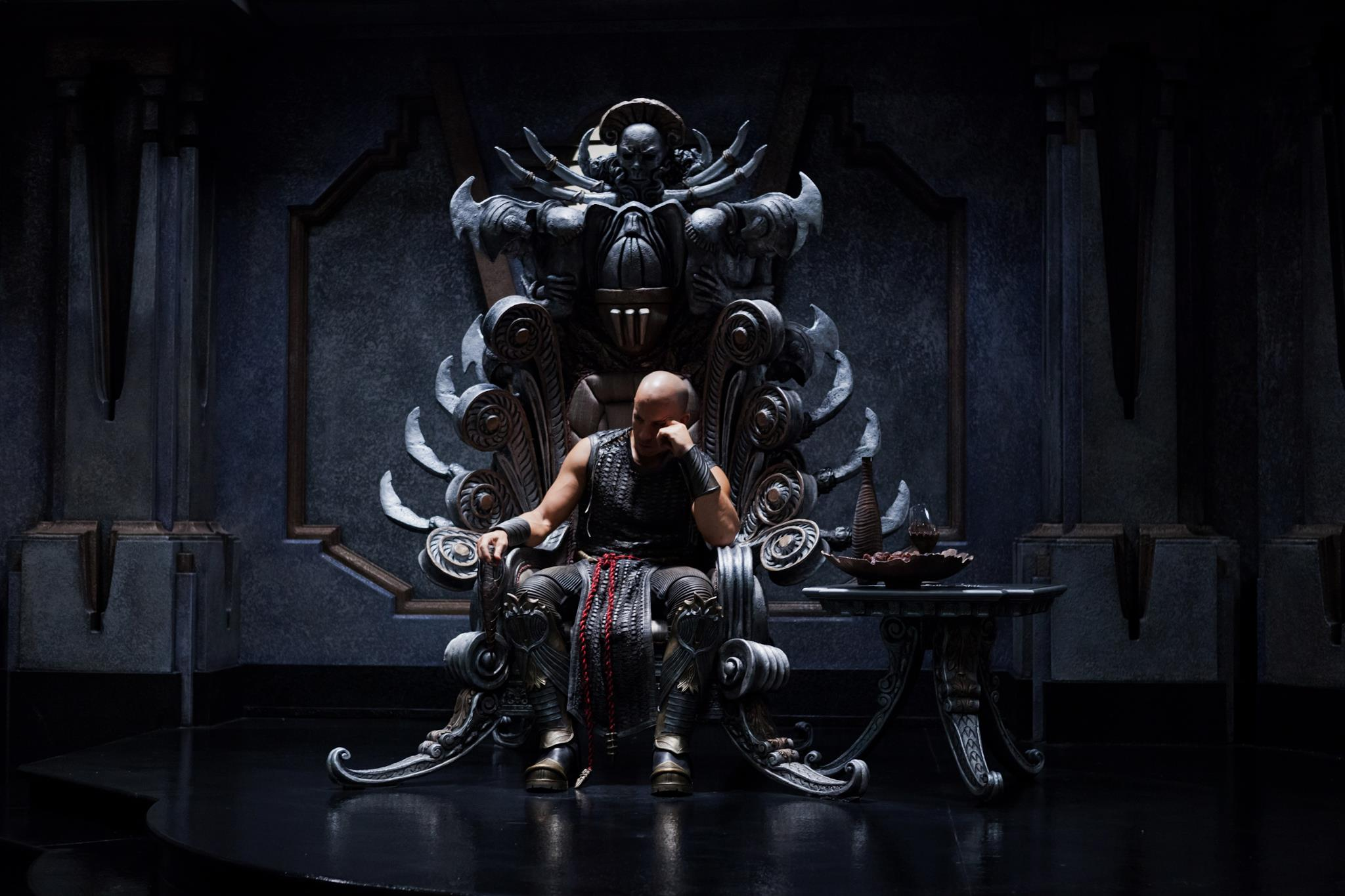 Riddick 3 throne Movie Review: Riddick