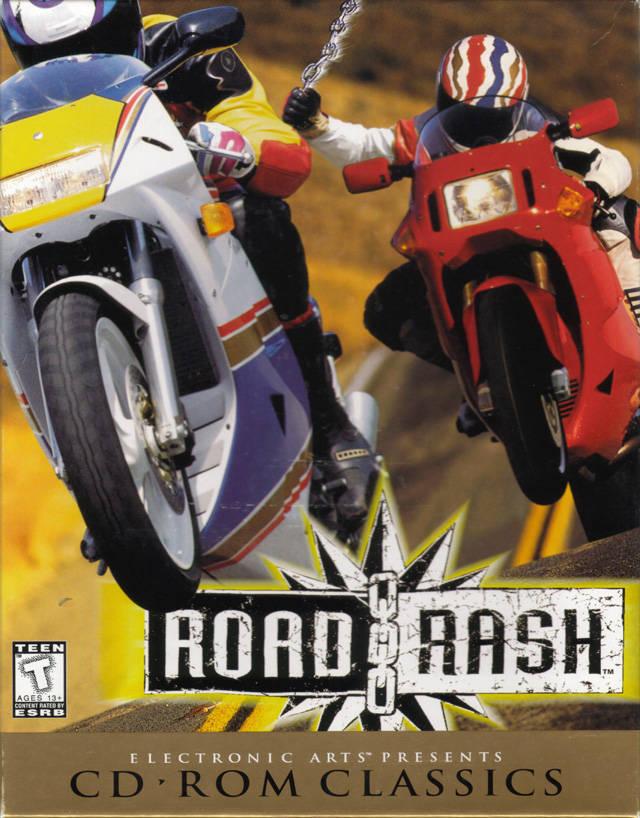 حصريا لعبة سباق الموتوسكلات الشهيرة Road rash مين فاكرها
