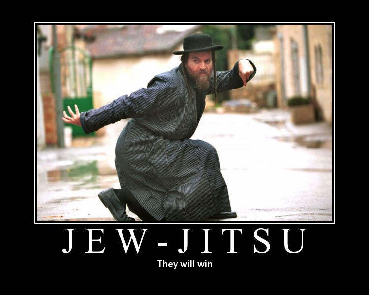 Les conneries d'internet Jew-jitsu
