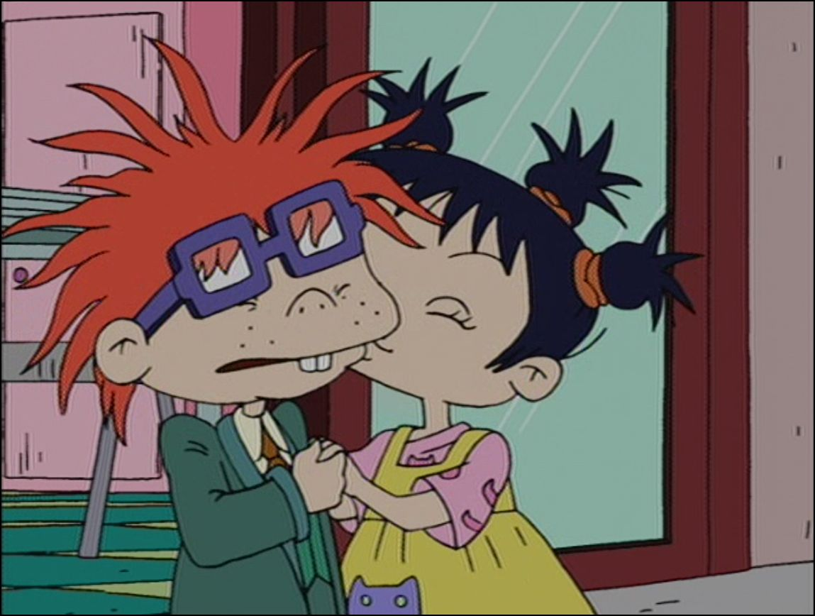 Chuckie and Kimi are so cute. Rugrats. |Rugrats Chuckie And Kimi