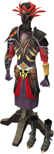 Image warpriest of zamorak armour on the for Portent runescape