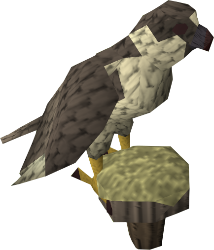 Gyr falcon - The RuneScape Wiki - Skills, quests, guides, items ...