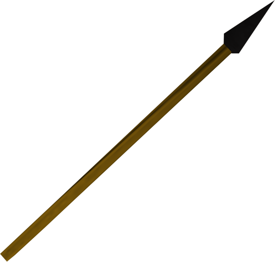image black spear detail png the runescape wiki