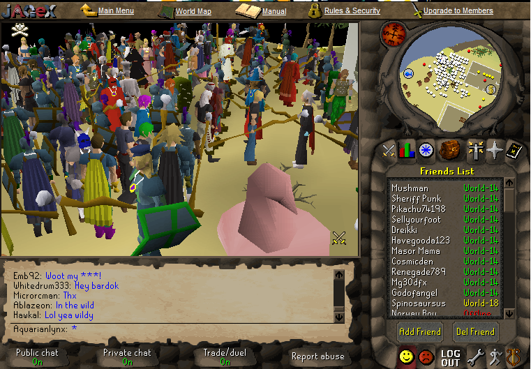party hat runescape. his yellow party hat in