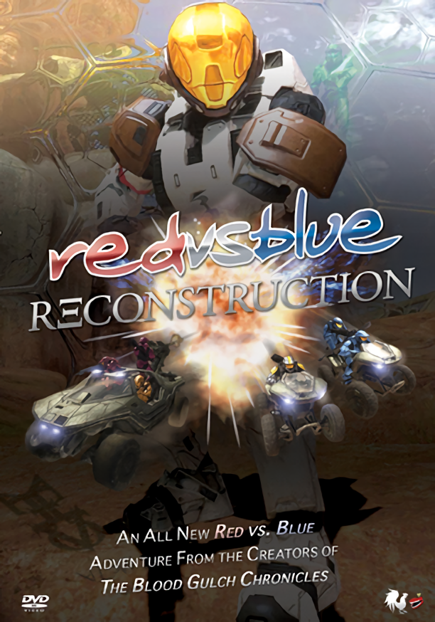 Red vs Blue Seasons 1-5 DVD Images (.ISO)