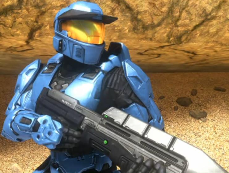Caboose Red Vs Blue. Michael J. Caboose - Red vs