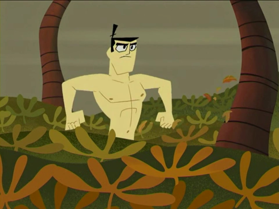 Samurai Jack Is Naked 82